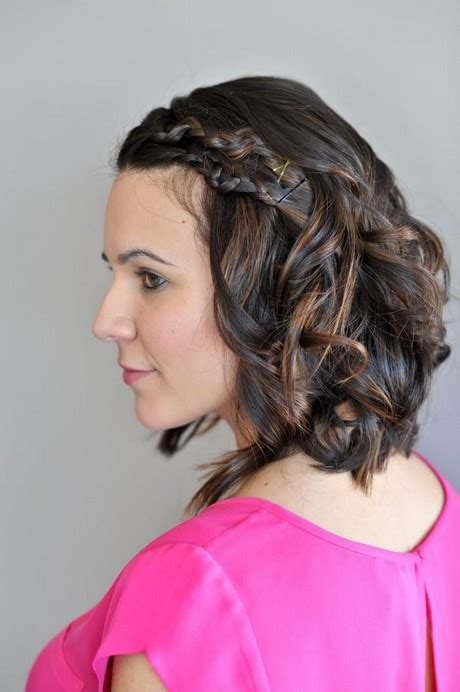 easy braided hairstyles for short hair easy braided hairstyles for short hair