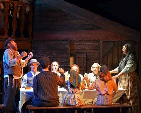 Tevye stephen west and family in fiddler on the roof photo courtesy