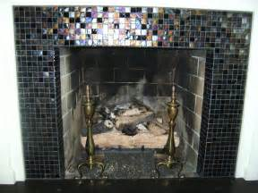 Glass Mosaic Fireplace Surround Knapp Tile And Flooring Inc Glass Tile Fireplace Surround