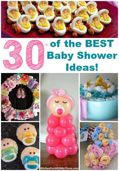 Baby Shower Best by 30 Of The Best Baby Shower Ideas Kitchen With My 3