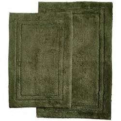 forest green bathroom rugs lenox platinum bath mat solid green forest bamboo