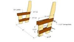 deck bench with back plans 1000 images about deck and wooden bench ideas on