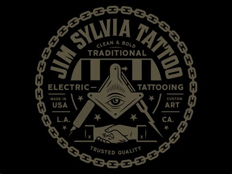 secret society tattoo jim sylvia sacred machine by clark orr dribbble