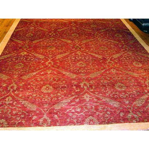 modern rugs pasargad modern contemporary transitional knotted silk and wool area rug wayfair
