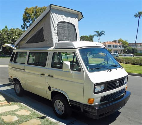 volkswagen westfalia 1989 vw vanagon westfalia cer auction in huntington