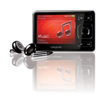 best mp3 player creative zen top 10 mp3 players