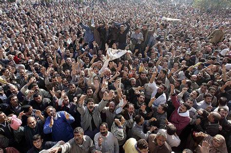 egypt over 50 000 attend joint muslim brotherhood salafi