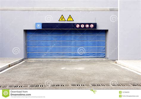 blue garage door blue garage door stock photos image 12769033
