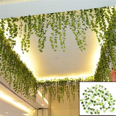 artificial plant decoration home 17 best ideas about ivy on pinterest trellis on fence