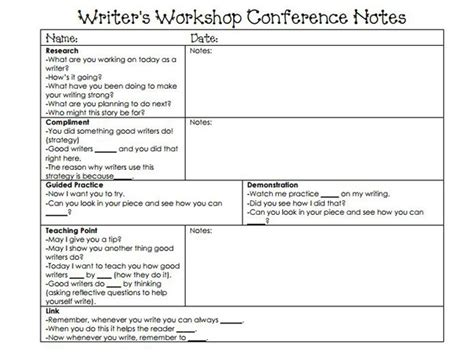 writing workshop lesson plan template calkins writing workshop lesson plan template the