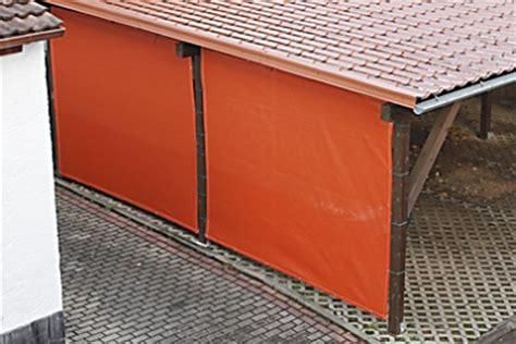 carport mit plane carport seitenw 228 nde verkleiden mit pvc plane oder