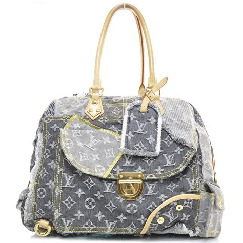 Patchwork Louis Vuitton - louis vuitton denim patchwork bowly le 22569