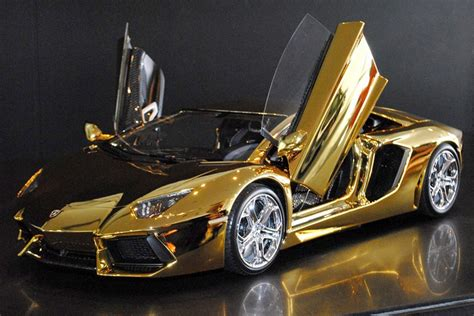 what is a lambo a solid gold lamborghini and 6 other supercars new york post