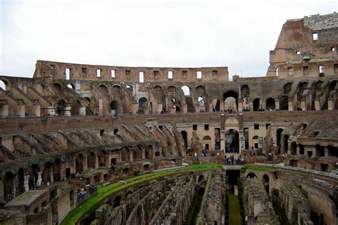 colosseo interno panoramio photo of roma colosseo interno