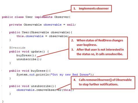 Observer Pattern In Java Thread   the observer pattern in java dzone java