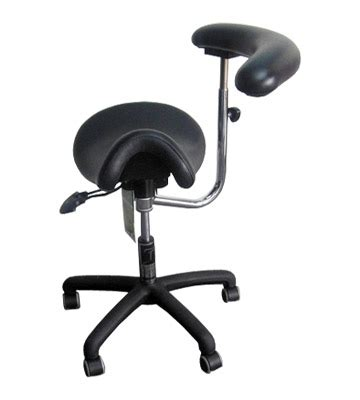 Saddle Chair With Back Support by Ergonomic Back Support Stools Ergonomic Back Support Seating