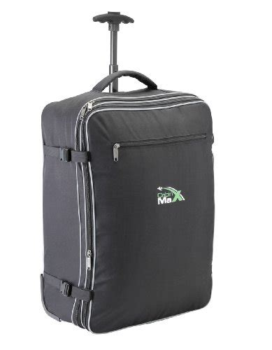 cabin max flight approved lightweight carry on trolley backpack bag cabin max berlin lightweight max allowance expandable