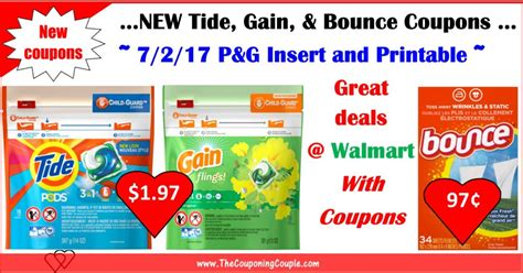 Brandsaver Printable Coupons new brandsaver coupons 7 2 for tide gain bounce deals at