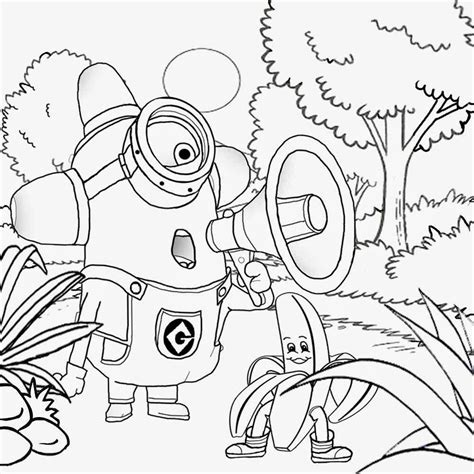 Free Coloring Pages Printable Pictures To Color Kids Drawing Ideas Kids Costume Minion Coloring Things To Print And Color