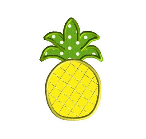embroidery machine applique pineapple applique machine embroidery design