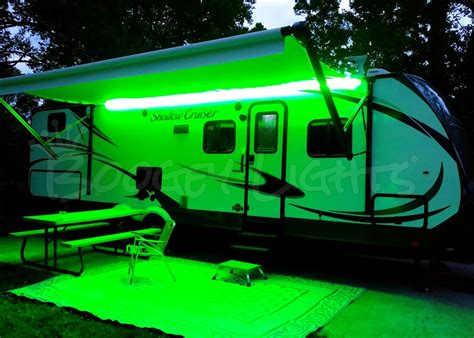 trailer awning lights rv awning lights multi color leds for rvs cers and