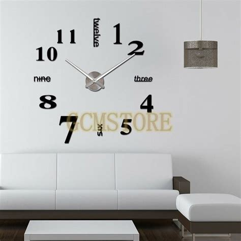 1000 images about acrylic colck wall stickers on