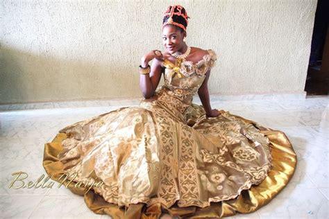 Dress Mercy Maroon bn bridal edo brides in beautiful beaded benin