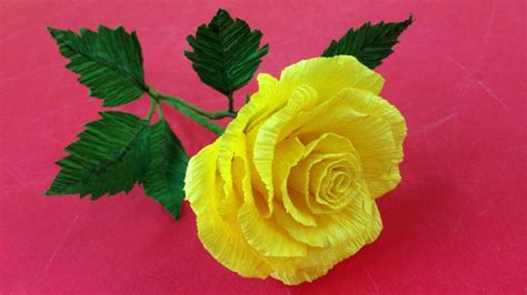 making flowers how to make rose crepe paper flowers flower making of