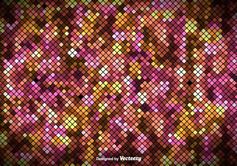 pixelated background colorful square tiles pattern vector pixelated