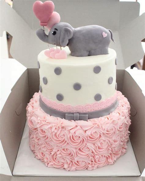 Birthday Cake Decoration Ideas At Home cute baby shower decoration amp cake ideas elephant theme