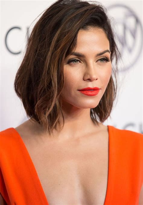 how to style jenna dewan s short hair jenna dewan tatum can t get enough of her short bob and