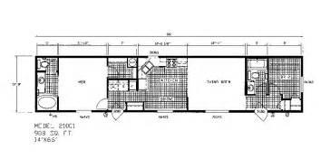wide floor plans nc fleetwood triple wide mobile home floor plans