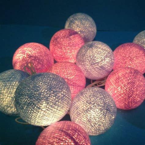 diy light balls yarn string lights diy idea diy crafts