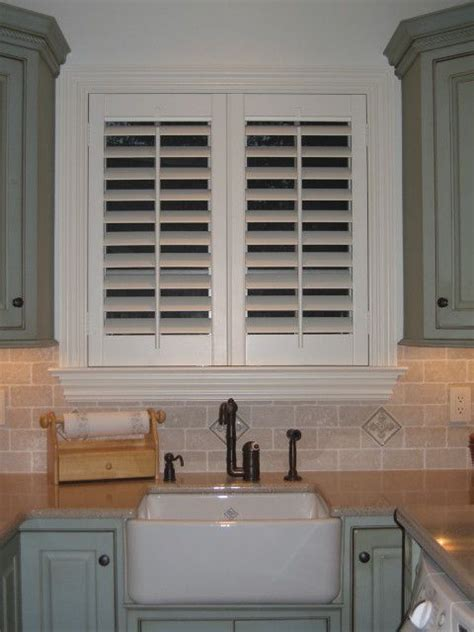 kitchen window shutters interior best 25 plantation shutter ideas on curtains