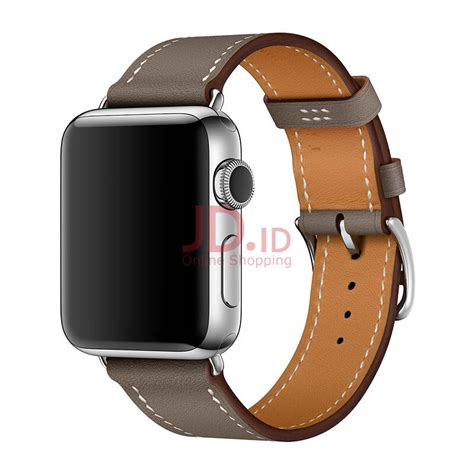 Jam Apple Hermes jual apple hermes 38mm etoupe x leather