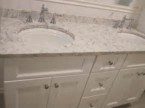 Backsplash Tiles For Sale - bathroom paint color to match carrara marble lg viatera rococo quartz