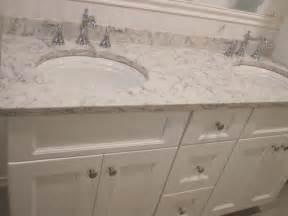 Bathroom paint color to match carrara marble lg viatera