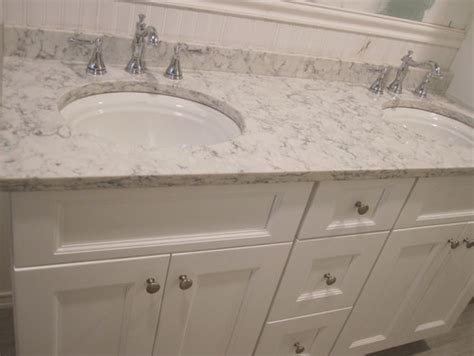 Trim For Backsplash - bathroom paint color to match carrara marble lg viatera rococo quartz