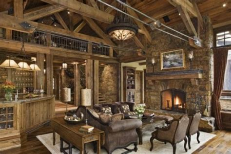 rustikales wohnzimmer 20 rustikale wohnzimmer design ideen tradition und