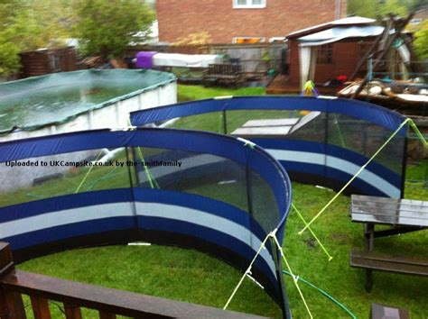 estate car awning tent outwell windscreen lux estate blue utility tent tarp