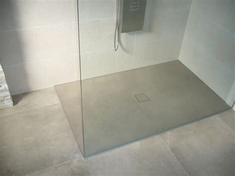 beton cire dusche boden dusche realisiert mit b 233 ton cir 233 original no 42