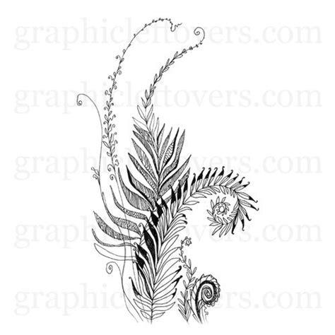 tattoo pen nz 99 best fern tattoo images on pinterest fern tattoo
