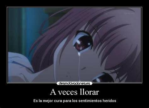 imagenes de amor tristes para llorar anime a veces llorar desmotivaciones