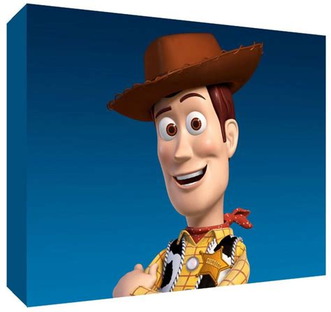 woody toy story canvas art choose  size ready
