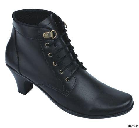 sepatu boots wanita terbaru 2016 sintetis sol fiber heel