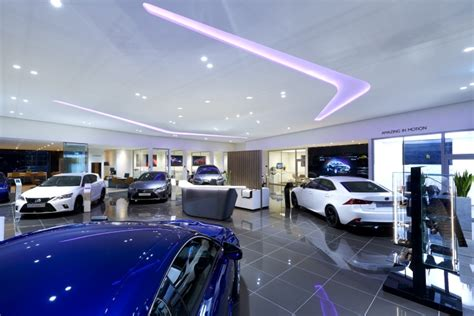 Lexus showroom by ARNO, Europe » Retail Design Blog