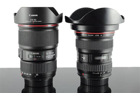Lensa Wide Canon Ef 16 35mm F 4l Is Usm canon ef 16 35 f 4l is vs ef 17 40 f 4l shootout