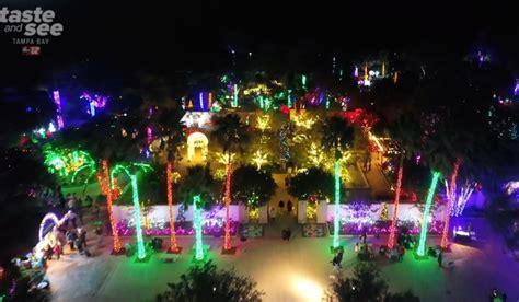 largo botanical gardens christmas lights photos lights at the florida botanical gardens in largo gallery abcactionnews