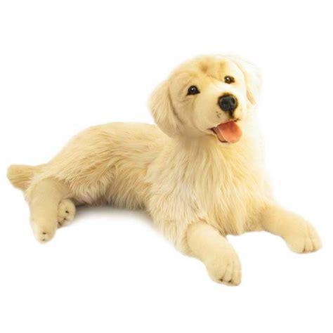large stuffed golden retriever golden retriever soft plush large spencer by bocchetta plush toys