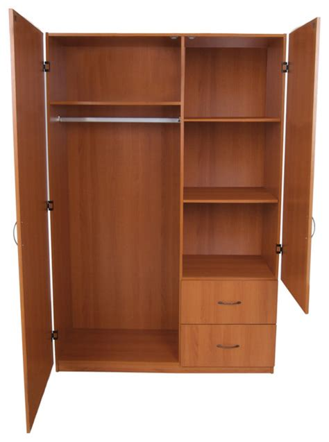 Large 2 Door Wardrobe Contemporary Armoires And Home Source Industries Armoires And